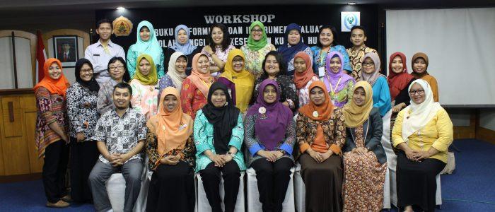 Workshop Buku IV Formulir dan Instrument evaluasi 2017